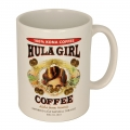 Hula Girl Coffee Mug White 11oz