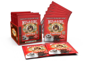 Hula Girl Chocolate 10% Kona Drip Coffee Pack of 50 Sachets